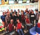 Bowling-Teams beim Turnier um den Wanderpokal 2019