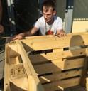 Gerüst aufbauen