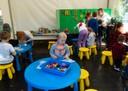 im Kinderzelt