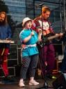 auf der Bühne zu singen