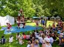 Kinderfest mit Akrobatik,