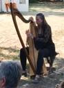 mit Harfen-Begleitung
